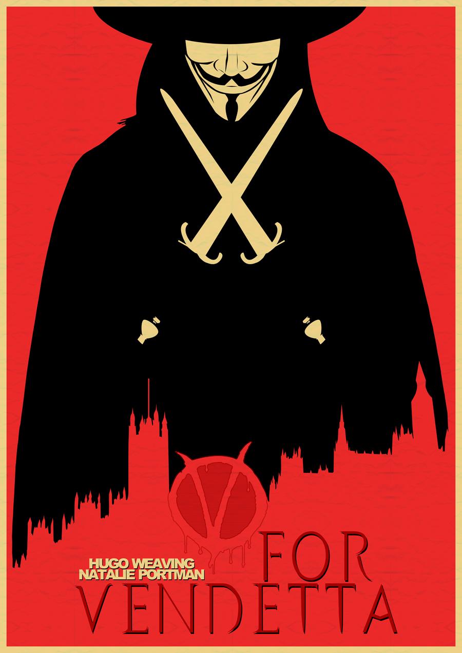 V for Vendetta by iAmJamiee on DeviantArt