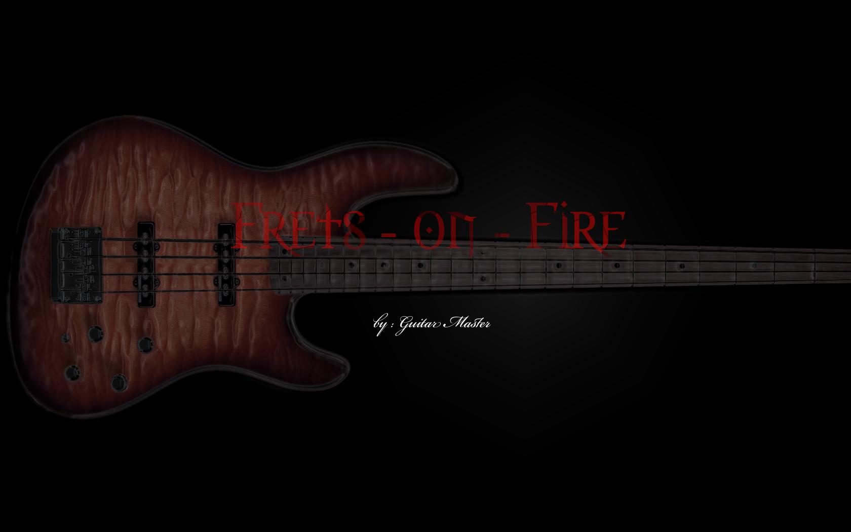 Frets on Fire Custom Wall by King-Aeolus