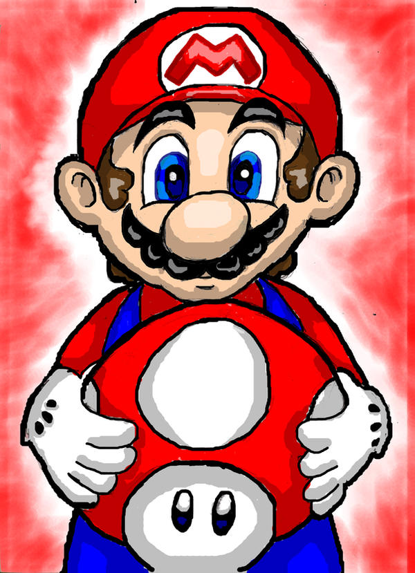 Mario S Mushroom By Mariobros Animated On Deviantart
