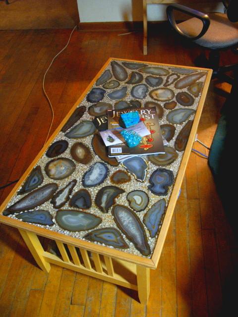Custom Agate Table I By Jessa1155 ...