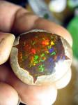 Ethiopian Opal Specimen.