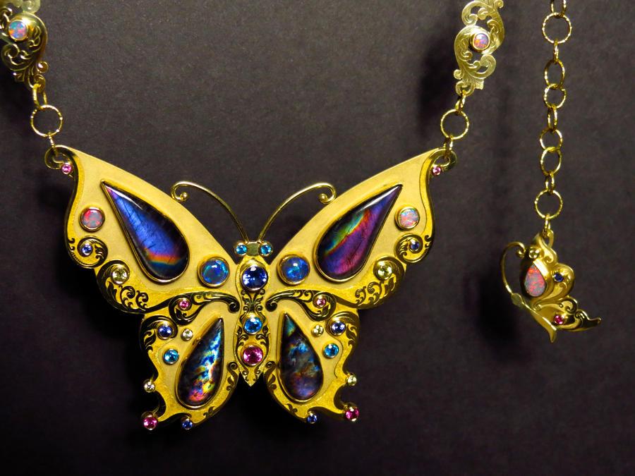 Spectrolite Butterfly 2 by jessa1155