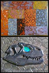 Allosaurus Pendant, Close Up Shots