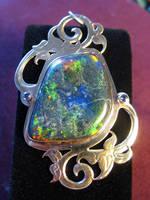 Andamooka Opal Pendant by jessa1155