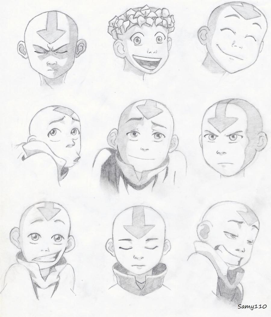 Aang by Samy110