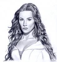 Kahlan Amnell - Bridget Regan by Samy110