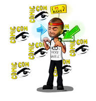 Ricky Whittle Comic Con by Samy110