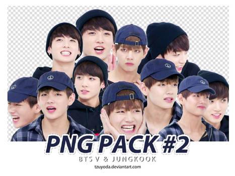 PNG PACK #2 ( BTS TAEHYUNG JUNGKOOK )