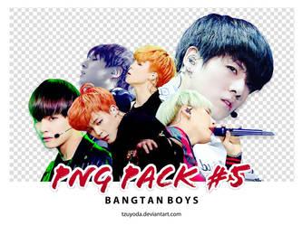 PNG PACK #5 ( BANGTAN BOYS PNG )