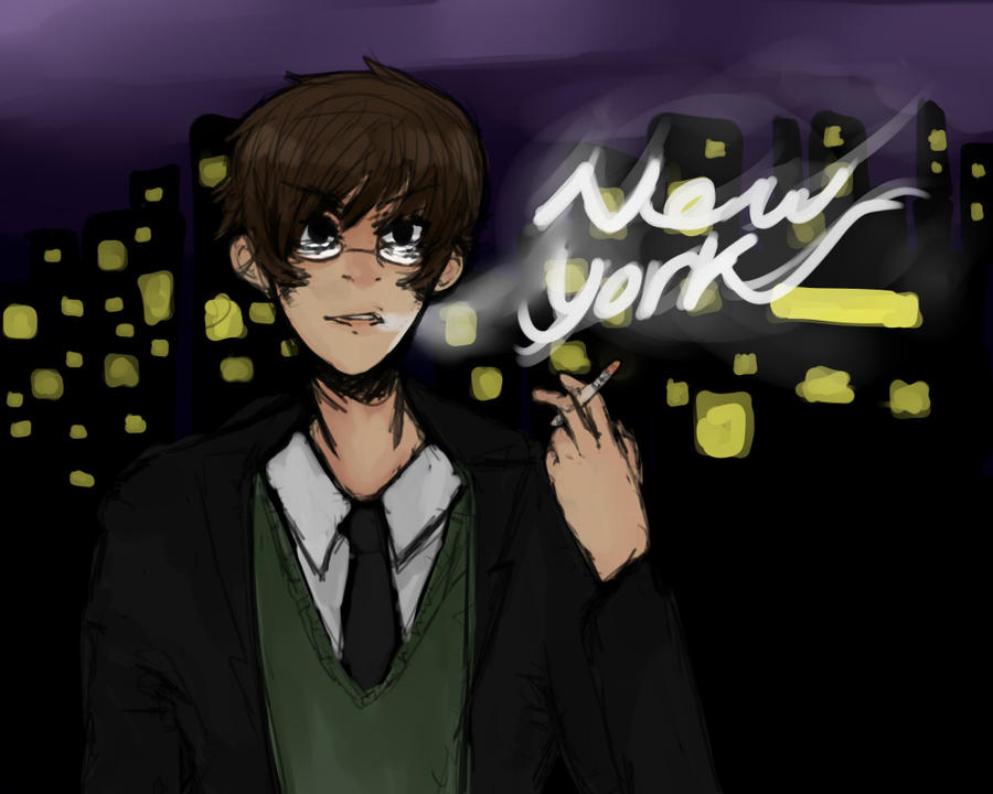 New York (Art Trade) by Kansassss