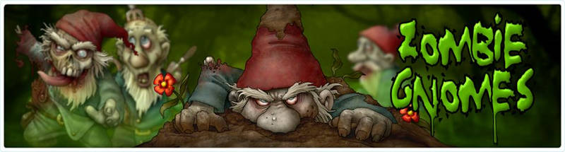 Zombie Gnomes Banner
