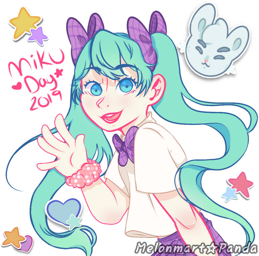 Miku day [For May, 2019] Please read Discription! by MelonMartPanda