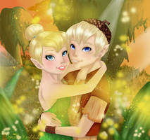 Tinkerbell and Terence by VanillaDeonna
