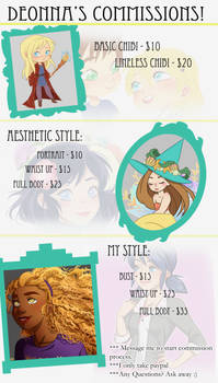 Commissions {OPEN}