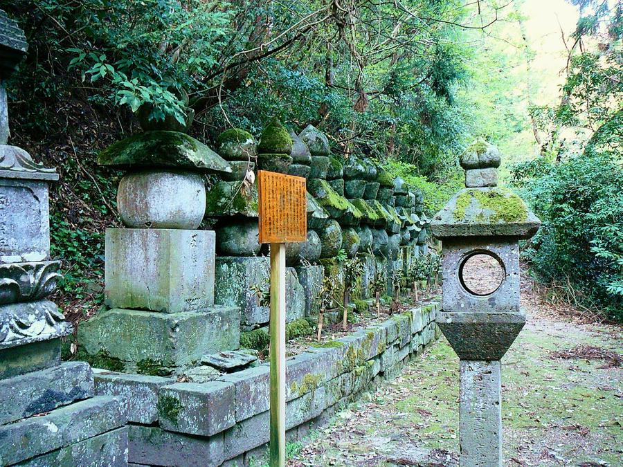 Chokokuji Graves by katters