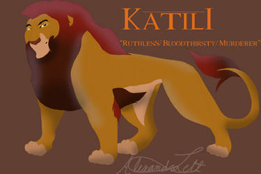 Katili/Old King Nala15 Contest Entry