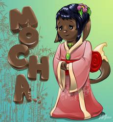Mocha the Kacheek by maomau