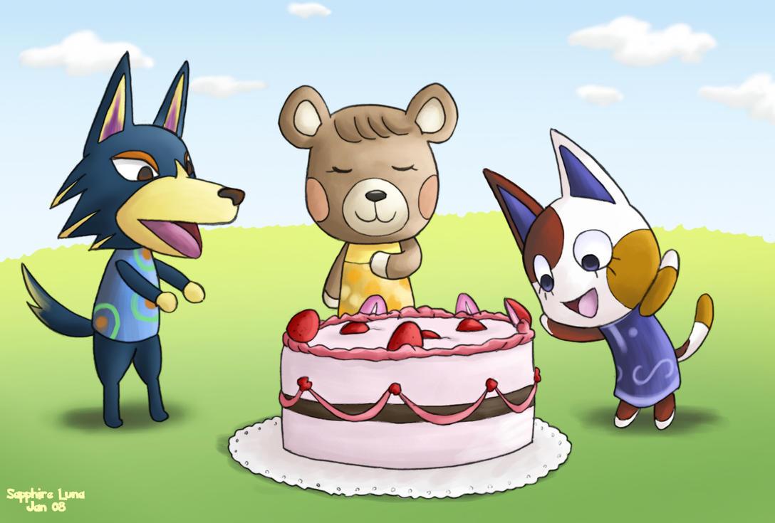 Animal Crossing New Leaf Isabelle Cake