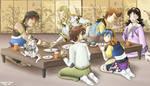 Lunar Food Party
