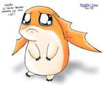 Patamon needs a serious hug