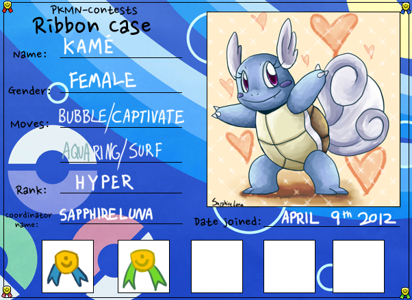 Pokemon Contest Ribbon Case - HYPER RANK by sapphireluna