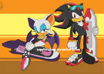 Sonic Riders -Rouge and Shadow