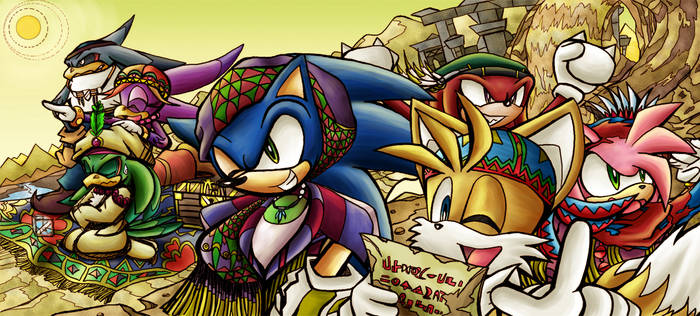 Sonic Riders - For Contest