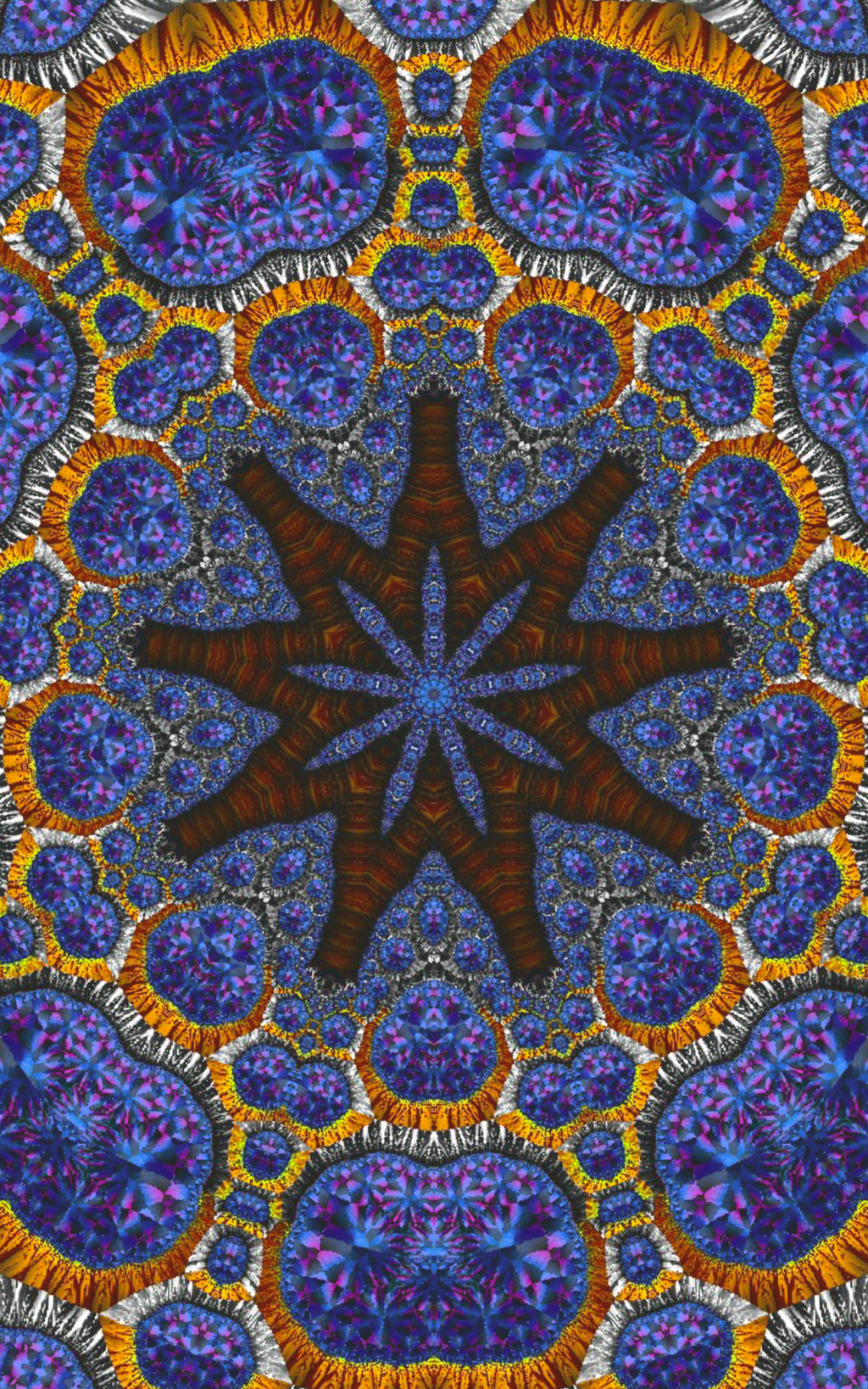 A Mosaic Starfish in the Bathhouse by FlyingMatthew