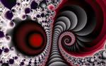 Red Fractal Ear Horn by FlyingMatthew