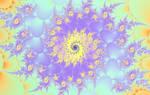 Pretty Pastel Spiral by FlyingMatthew