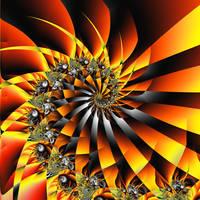 Fireworks Spiral II