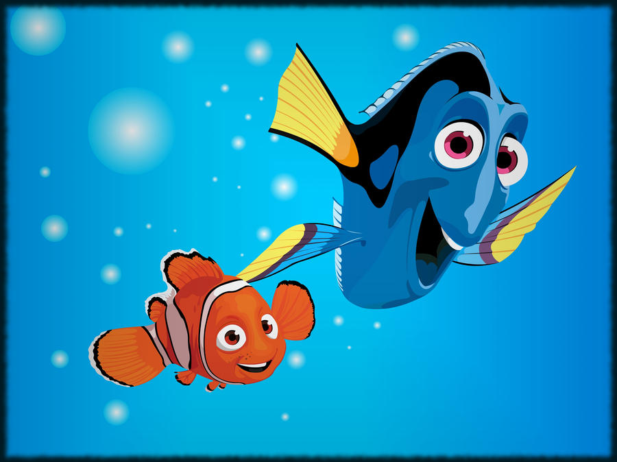 Nemo and dory by nocanduu on deviantart - Image doris nemo ...