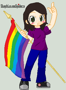 I support the gays by Funnyanimelover