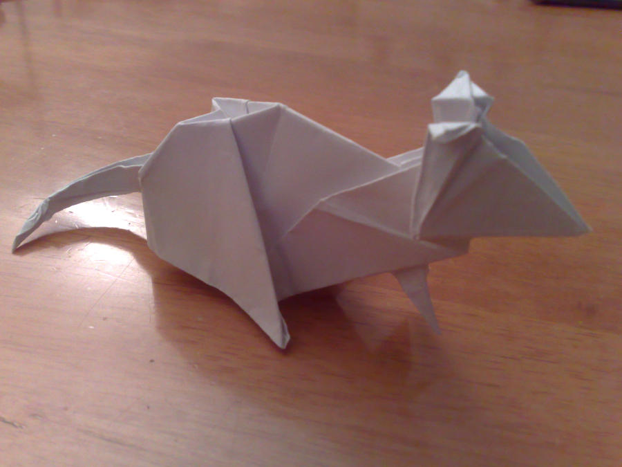Mouse Origami Images Instructions Easy For Kids