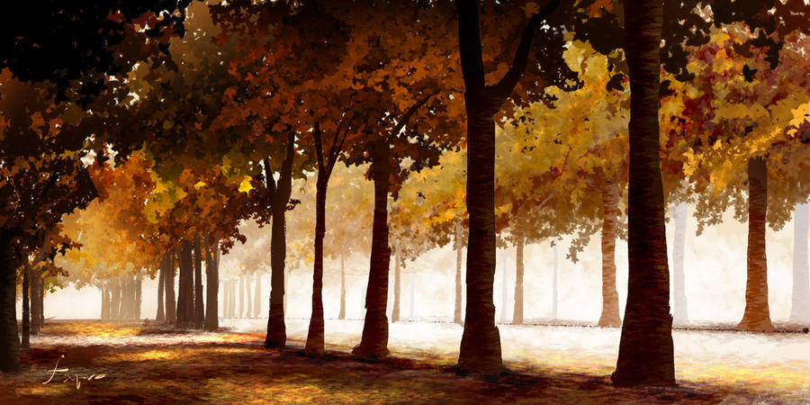 Autumn by fxEVo