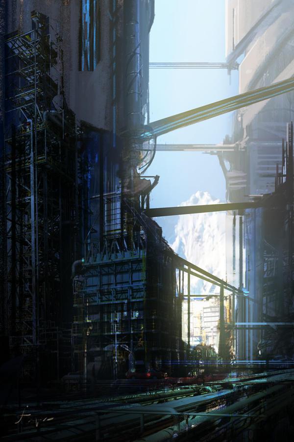 Sky Industry by fxEVo