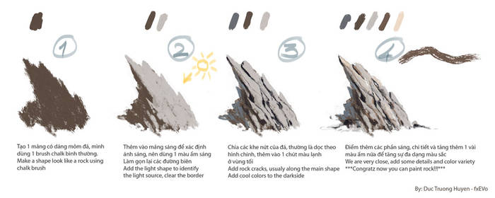 How to: paint a rock!