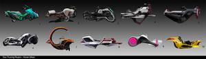 Hover Bikes