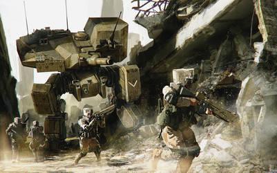 Battlemech by fxEVo
