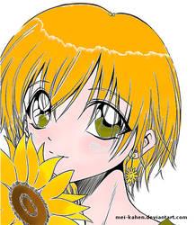 Sunflower by mei-kahen