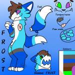 Ref gift for FrostFox0972!!! (White paws)