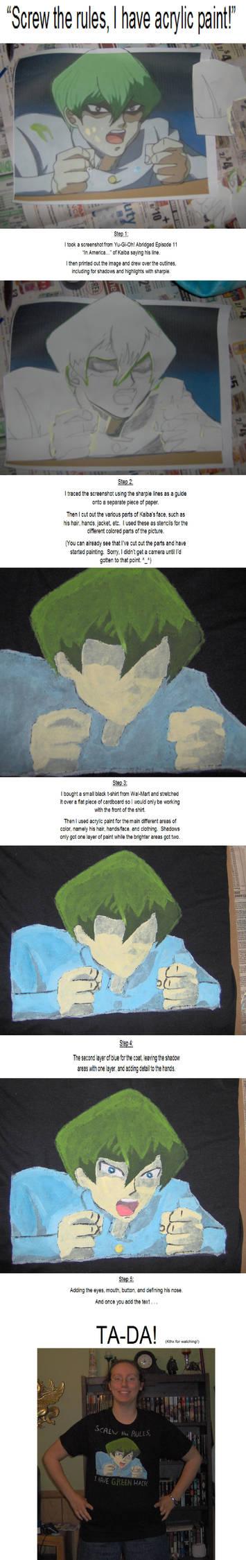 Kaiba shirt WIP series
