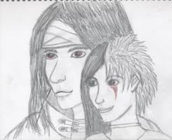 Vincent Valentine and Hikari