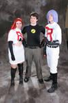 Team Rocket and Captain Hammer