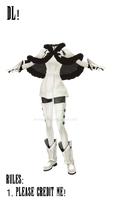 Drakengard One Outfit MMD DL