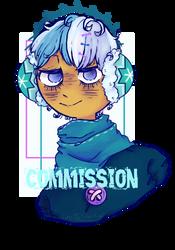 [Commission] Snow Sugar Cookie by LeoTheStarKid