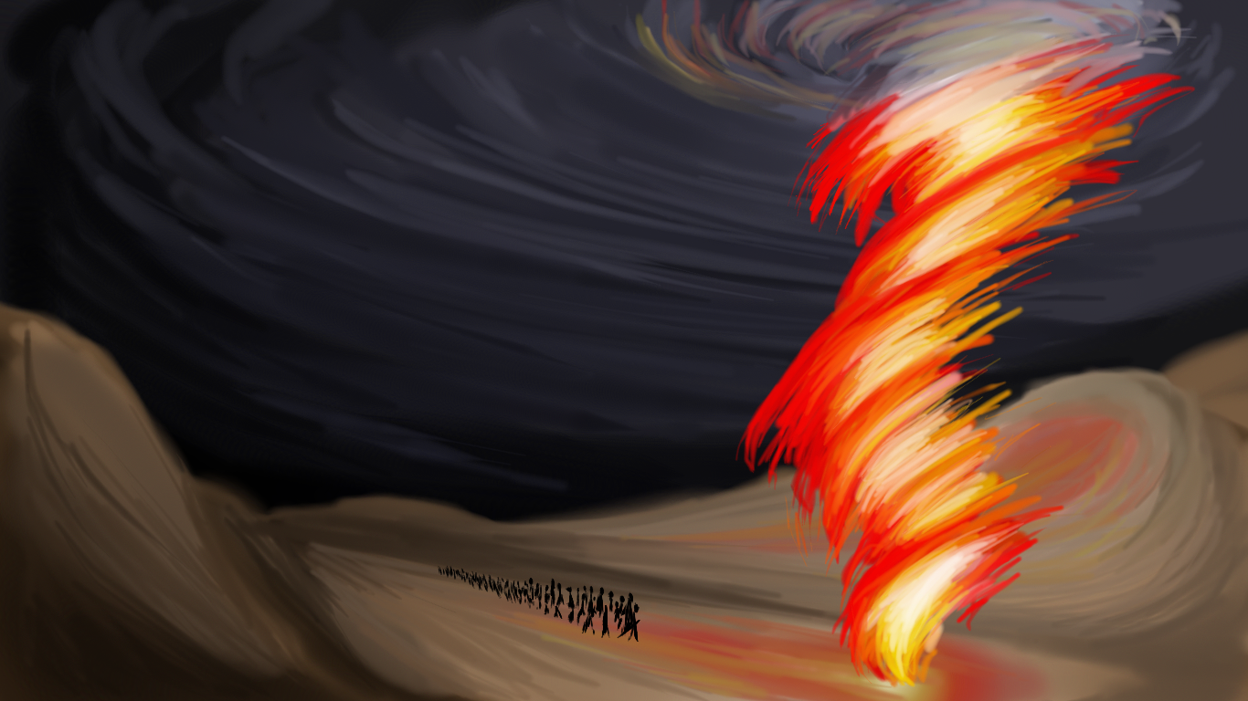 Pillar of Fire speedpaint by 05dastarli
