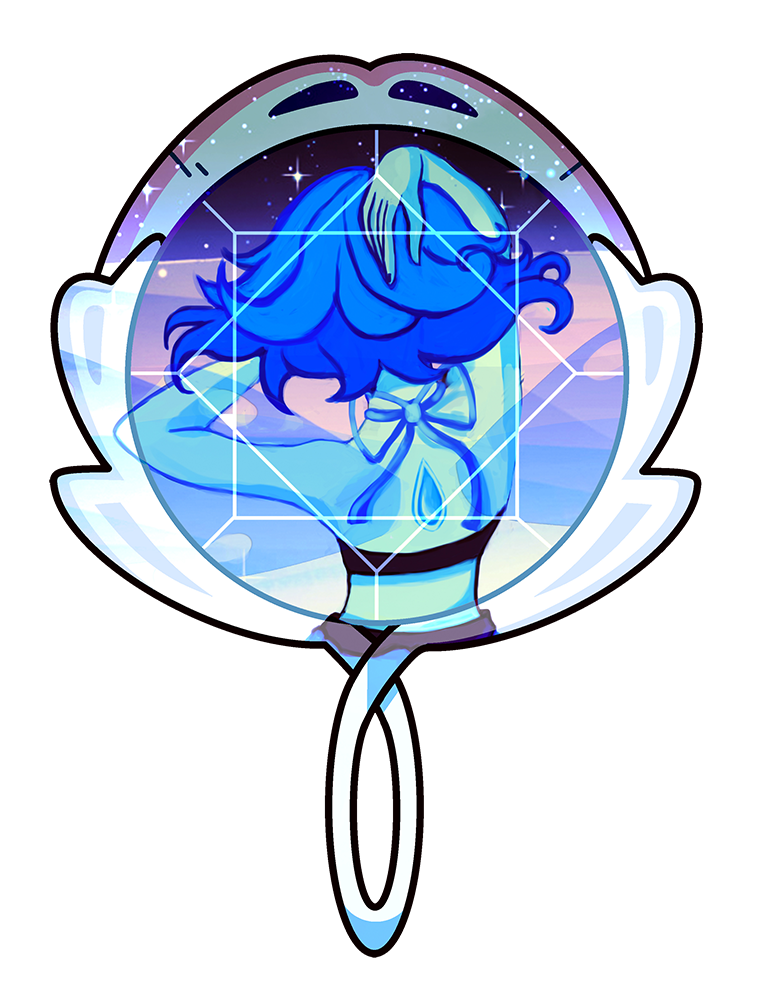 Commissions open my friends, If you want one there you have the journal: COMMISSIONS OPEN A version of my Ocean Gem Piece fav.me/d8y31rj This time I made the mirror, based on the Steven Universe Mi...