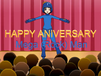 (KISEKAE) Happy 28th Anniversary Mega Man! by Thunderblade2001