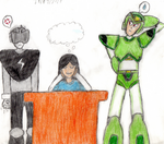 (SCHOOL DRAW) My imagination and... Reactions